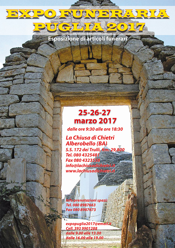 expo funeraria puglia 2017